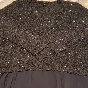 Gorgeous sequin sweater